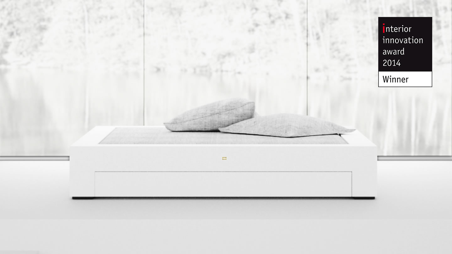 AWARD WINNING GERMAN DESIGNER FELIX SCHWAKE Interior Innovation Award 2014 BED I I