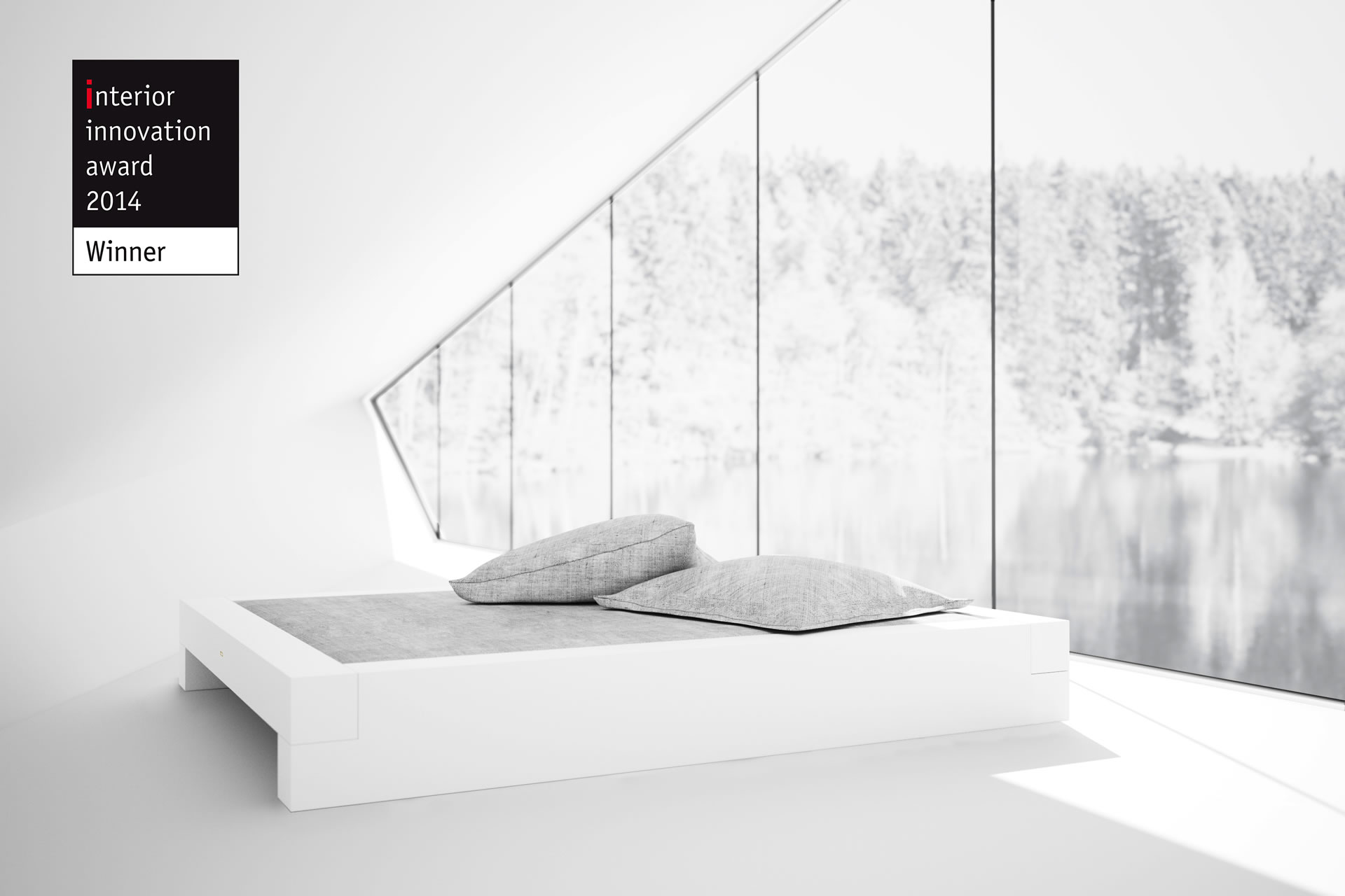 AWARD WINNING GERMAN DESIGNER FELIX SCHWAKE Interior Innovation Award 2014 BED I