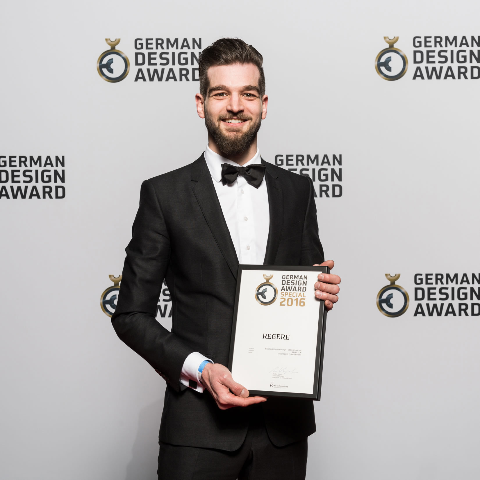 Award Winning Designer FELIX SCHWAKE German Design Award 2016
