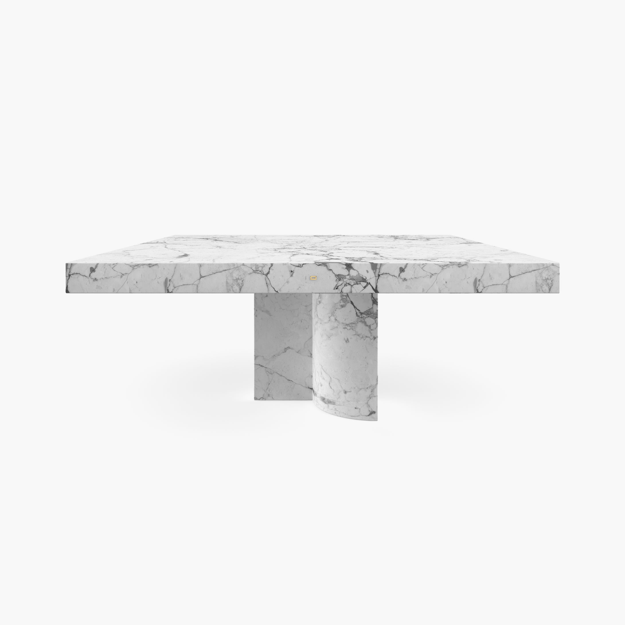 Fs 194 F Dining Table White Arabescato Marble Felix Schwake