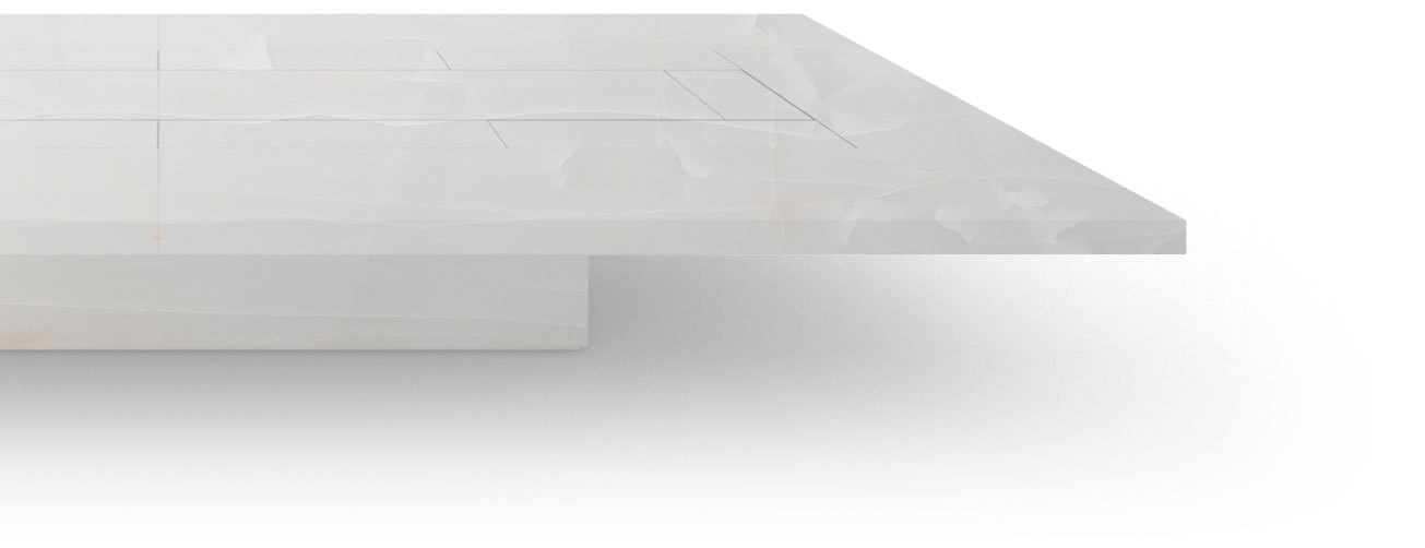 FELIX SCHWAKE BOARDROOM TABLE II V large structure onyx marble white minimalist boardroom table structure
