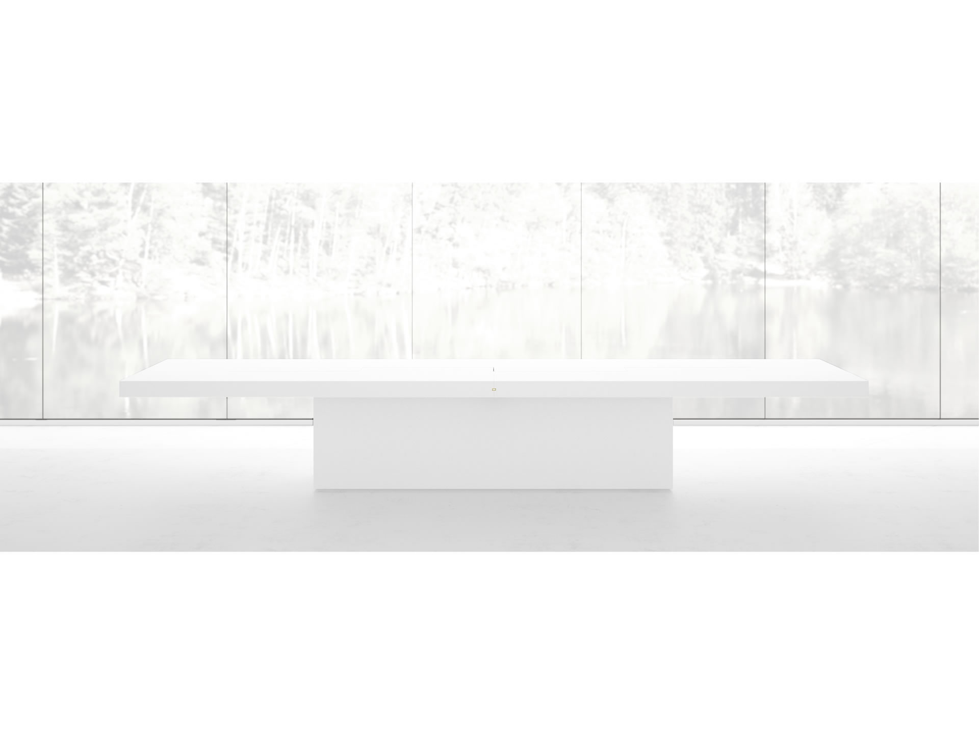 FELIX SCHWAKE CONFERENCE TABLE II IV Customize White Conference Table Massive