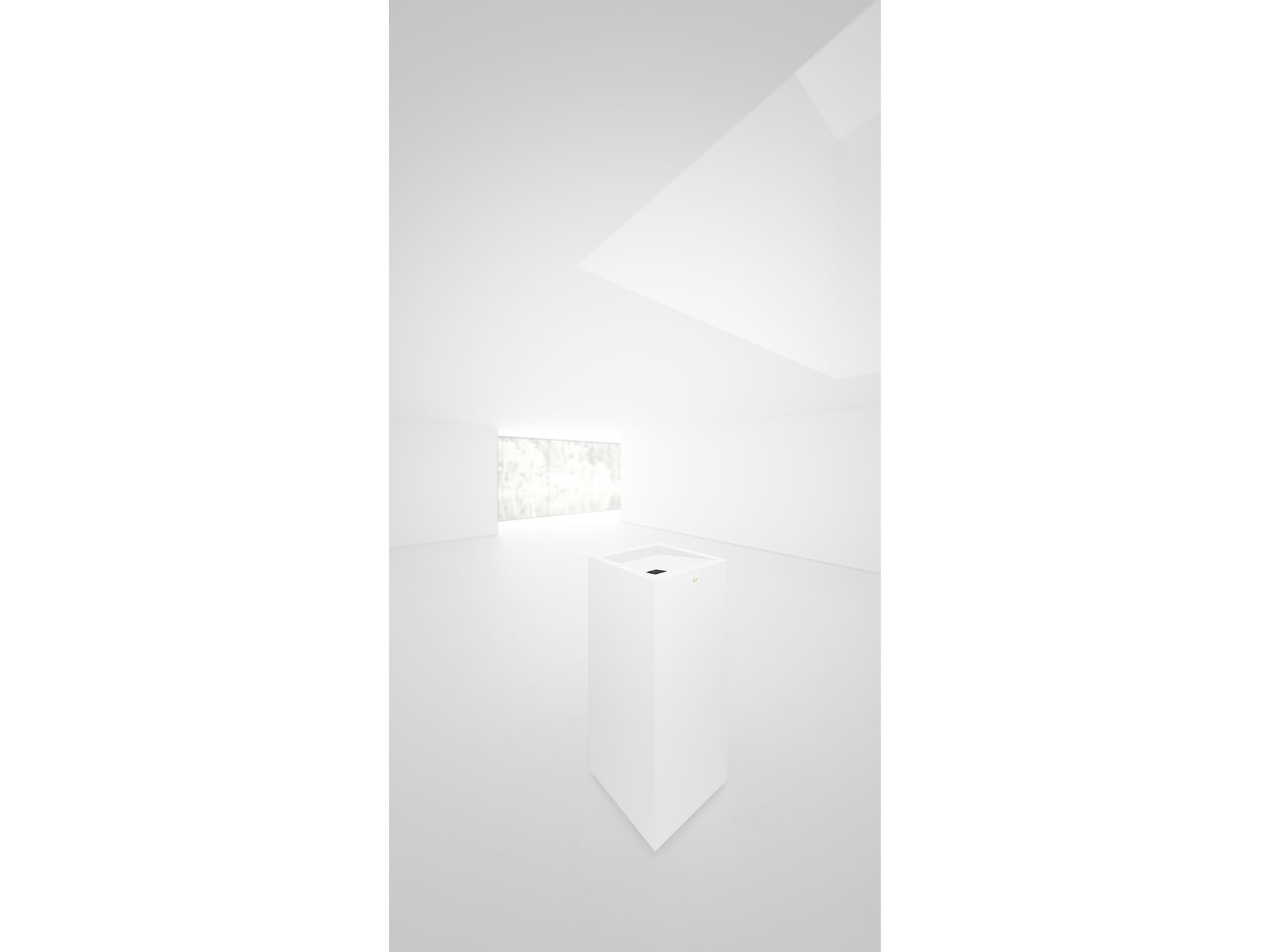 FELIX SCHWAKE SHELVE I II Nobel White Lectern Closed