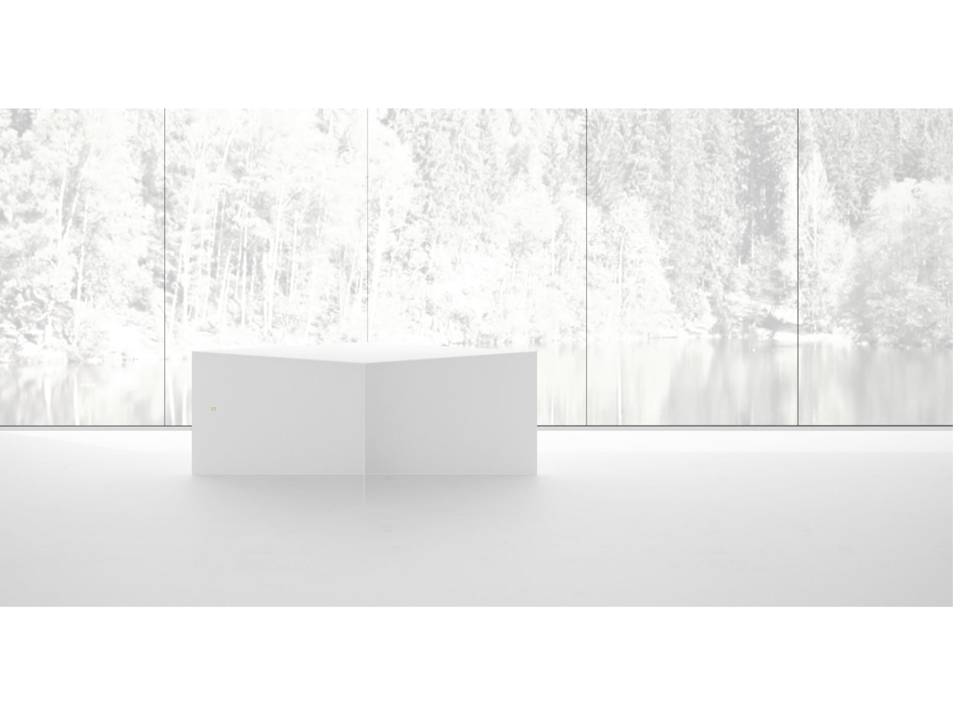 FELIX SCHWAKE TABLE IV Sublime White Table with X Legs