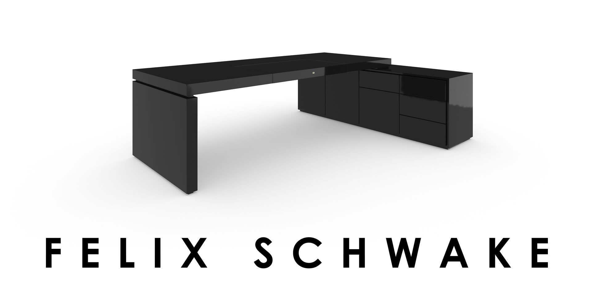 Sideboard Schwarz Excellent Awesome Fill Hg Chefzimmer