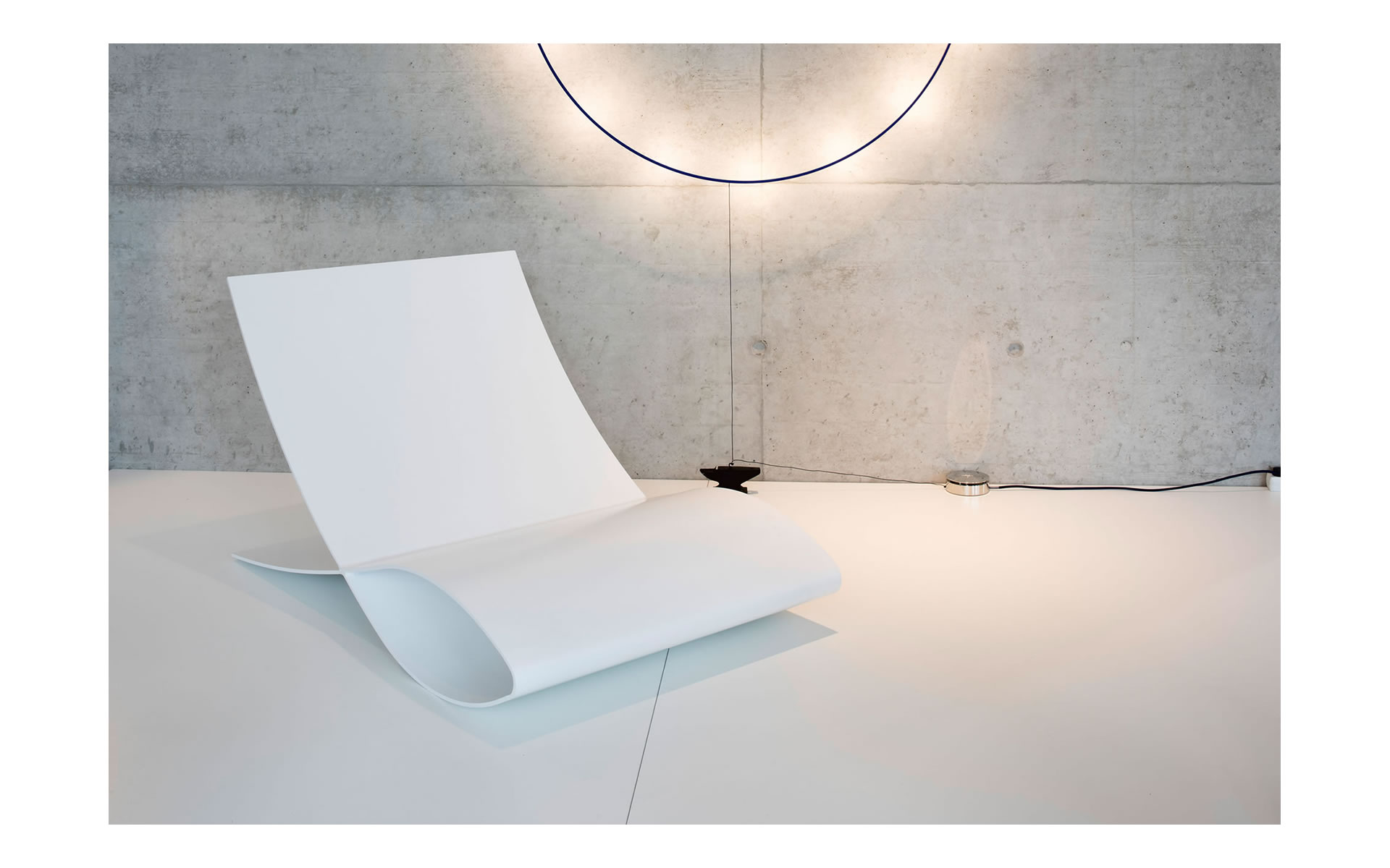 Sessel Weiss Hochglanz Lack Lounge Wartebereich Empfang Modern Bsk  Nuernberg Designmoebel
